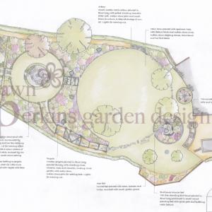 Garden Design Cheshire traditional garden – dawn garden design
